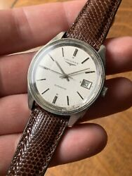 Longines Stainless Steel Mens Vintage Automatic Watch Rolls Royce 1979