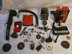 Vintage Stihl 015 Chainsaw, Parts, All Parts In The Photos Are Included