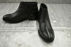 Seychelles Resemblance Leather Ankle Boots Womenand039s Size 7.5 Black New
