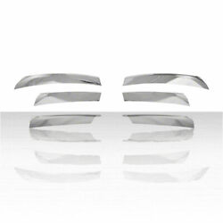 Chrome Snap On Grille Overlay Front Trim Covers For Fits 2013-15 Nissan Altima