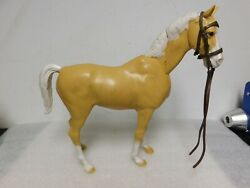 Vtg Marx Johnny West Horse Thunderbolt Moving Head Collectible