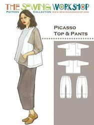 The Sewing Work Shop Picasso Top And Pants Sewing Pattern- Lagenlook