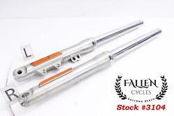 2013 Harley Dyna Wide Glide 49mm Front Fork Complete Left Right Set 25mm Axle