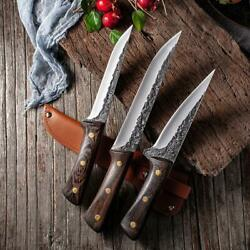 New Damascus Stainless Steel Sharp Knife Fish Meat Pig Knife Chef Kitchen