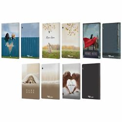 Personalized Ron Schmidt Dog Art Leather Book Case For Huawei Xiaomi Tablet