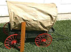 Vintage Louis Marx Johnny West Covered Wagon
