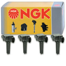4 Pcs Ngk Ignition Coil For 2010-2011 Saab 9-3x 2.0l L4 - Spark Plug Tune Up Nd