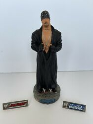 Wwe Wwf Wrestling Boxed Undertaker Wicked Figures Collectible Statue Ltd Ed 251