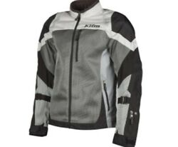 Klim Induction Light Gray Mesh D30 Armored Motorcycle Jacket Sizes M Xl 2x 3x