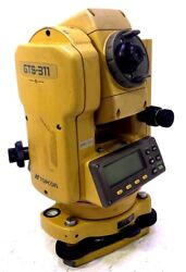 Topcon Gts-311 Land Survey Equipment Nw1320 With Case