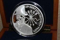 2013 Sbss Debt And Death Limited Edition Jumbo Proof - 5 Oz. Silver 682