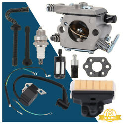 Ignition Coil Carb Air Filter Kit For Stihl Ms210 Ms230 Ms250 021 023 025