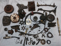 Vintage Mcculloch Old Chainsaw, Parts, All Parts In The Photos Are Included