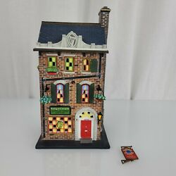 Dept 56 2003 Christmas In The City Kelly's Irish Crafts 56-59216 Please Read