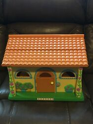 Dora The Explorer Pop Up Talking House Dollhouse New With Damaged Flower