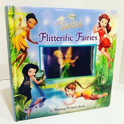 Flitterific Fairies Tinkerbell Fly With You 3d Moving Pictures Book Disney New