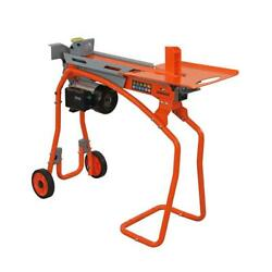 Log Splitter Electric 5 Ton Stand Tray Heavy-duty Cutter Lightweight Portable