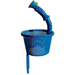 Pool Skimmer Basket Quick Release Push Of Button With Handle Durable Accessory