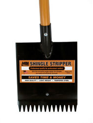 Shingle Remover Stripper Roof Rippers Heat Treated D Grip Handle Robotic Welds