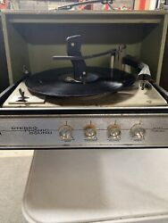 Sears Silvertone Record Player Stereo Phonic Sound