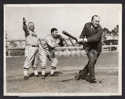 Legends Childs Play Featuring Ty Cobb John Mcgraw Roger Bresnahan News Photo