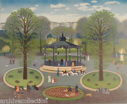 Michel Delacroix Kiosque Signed And Numbered By Artist