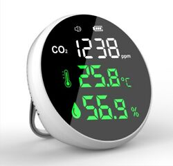 Mini Co2 Temperature Carbon Dioxide Detector Fits Fit Ndir 4005000ppm Date Us