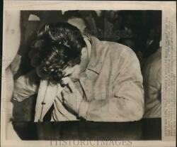 1947 Press Photo Rocky Graziano As Attorneys Argue Ny Athletic Commission