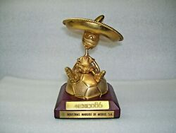 World Cup 1986 Official Mascot In Metal