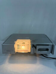 Audiovox Kcd3180 Under Cabinet Kitchen Cd Clock W/ Remote Used