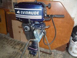 Evinrude Johnson 1989 Outboard 4 Hp Excel/ultra Powerhead And Ignition