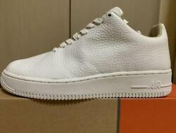 Nike Air Force1 Ltd 1 Piece Size 9 White Leather Men's Sneakers Never Used