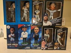 Lot Of Dodger Bubblehead Sga Collection - 57 Individual Bobbleheads And Figures
