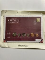 2008 Brittains New Coinage Commerative Coin Cover