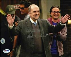 Bob Newhart Big Bang Theory Autographed Signed 8x10 Photo Certified Psa/dna Coa