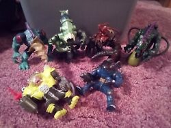 Vintage Street Sharks - Lot Of 6 Villains