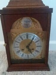 Restored Tempus Fugit Mantle Clock With New Hermle Clock Movement 150-070