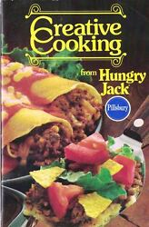 Pillsbury Creative Cooking With Hungry Jack Small Cookbook 1980s