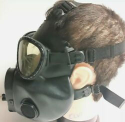 Us Army Gas Mask C8r1 Military Black Chemical Biological