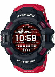 Psl Casio G-shock G-squad Pro Gsw-h1000-1a4jr Menand039s Watch Smart Watch Red New