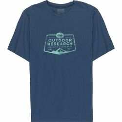 Outdoor Research Apparel Bowser Tee, Men's Size S, Dusk - New