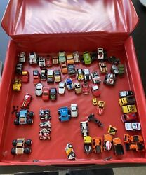 Vintage 1988 Micro Miniand039s Collectorand039s Case100+ Cars Planes Military Trucks