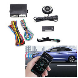 Car Engine Start Switch Push Button One-key Stop Smart Bluetooth Control System