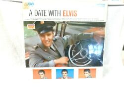 Elvis Presley Lp Lsp-2011e A Date With Elvis Stereo Mint Sealed 1963
