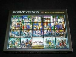 Mount Vernon George Washington - The First Man In The Chair - 750pc Puzzle