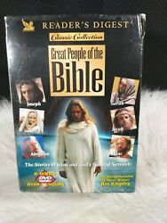 Readers Digest Great People Of The Bible Classic Collection Format Dvd