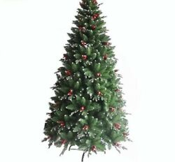 Pine Cone Christmas Tree Red Green White Colored Home Office Holiday Decorations