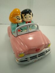 Ultra Rare Limited Edition I Love Lucy Pink Car Cookie Jar 394 Of 4800 Nib