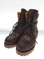 Visvim Cochiseboots-folk Combat Sole Brown Leather Us 10 Used From Japan