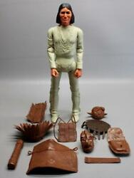 Vintage Marx Best Of The West Geronimo Action Figure W/some Accessories